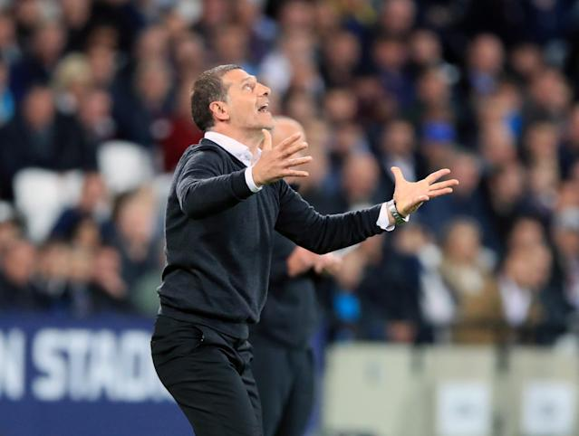 It has been a roller-coaster ride for Hammers' boss Slaven Bilic, whose side face Bolton next