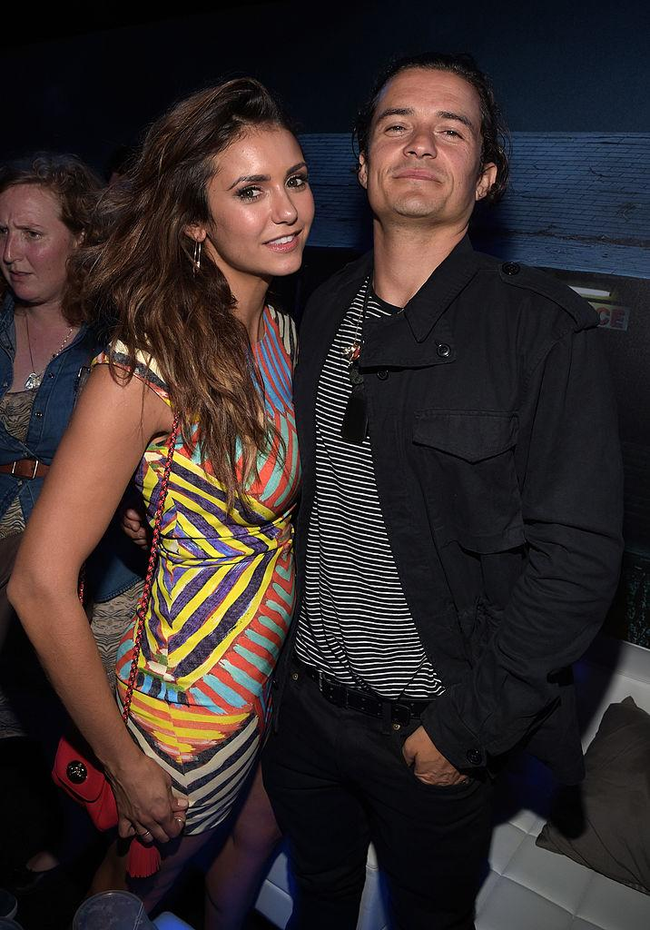 Here are Nina and Orlando at a Comic-Con party in 2014. (Photo: Jason Kempin/Getty Images for Playboy)