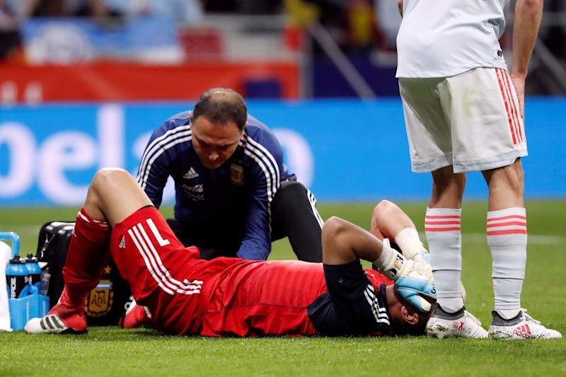 FIFA World Cup 2018: Argentina's preparations suffer blow as goalkeeper Sergio Romero ruled out due to knee injury