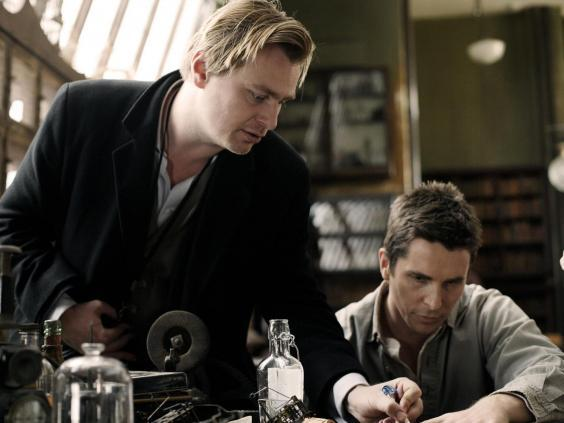 Christopher Nolan directs Christian Bale on the set of 'The Prestige' (Rex/Shutterstock)