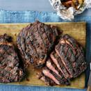 """<p>Father's Day is the perfect holiday for firing up the grill. Bring dinner outside with these seasoned, grilled rib eyes and serve them with a side of potatoes. </p><p><a href=""""https://www.thepioneerwoman.com/food-cooking/recipes/a35823414/lemon-pepper-grilled-rib-eyes-recipe/"""" rel=""""nofollow noopener"""" target=""""_blank"""" data-ylk=""""slk:Get Ree's recipe."""" class=""""link rapid-noclick-resp""""><strong>Get Ree's recipe.</strong></a></p><p><a class=""""link rapid-noclick-resp"""" href=""""https://go.redirectingat.com?id=74968X1596630&url=https%3A%2F%2Fwww.walmart.com%2Fsearch%2F%3Fquery%3Dmeat%2Bthermometer&sref=https%3A%2F%2Fwww.thepioneerwoman.com%2Ffood-cooking%2Fmeals-menus%2Fg36109352%2Ffathers-day-dinner-recipes%2F"""" rel=""""nofollow noopener"""" target=""""_blank"""" data-ylk=""""slk:SHOP MEAT THERMOMETERS"""">SHOP MEAT THERMOMETERS</a></p>"""