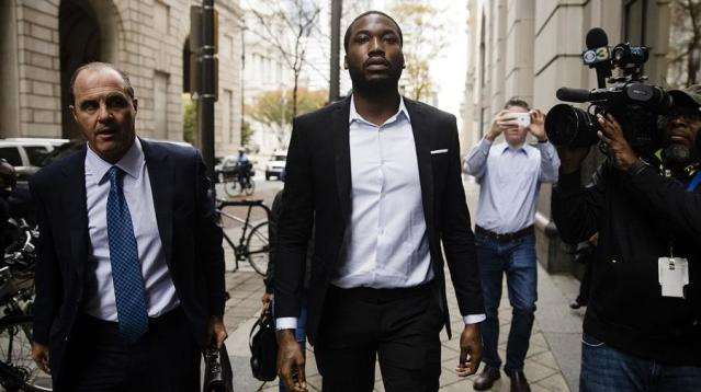 The judge who sentenced Meek Mill to prison over a parole violation has rejected a request to reconsider the rapper's sentence.