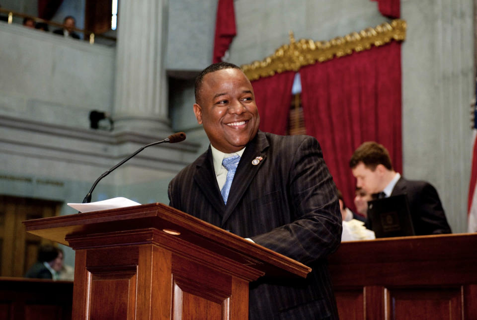 Tennessee state representative Antonio Parkinson hopes to curb on-campus fighting and inebriation by introducing a dress code for visitors. (Photo: State Rep. Antonio Parkinson via Facebook)