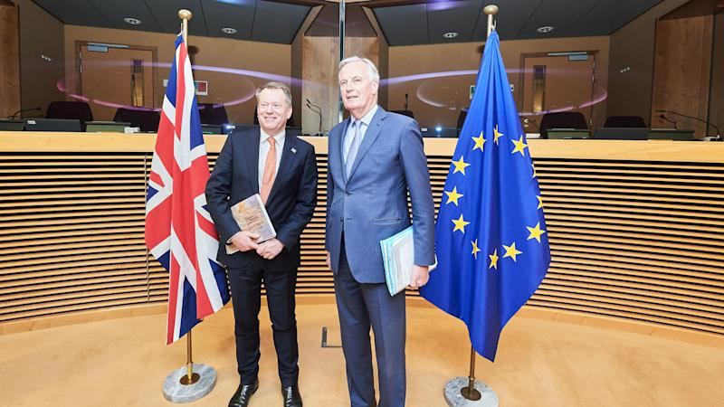 Michel Barnier travels to London for post-Brexit trade deal talks