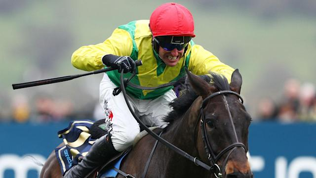 Robbie Power steered Sizing John to victory in the biggest race of the Cheltenham Festival for Jessica Harrington.