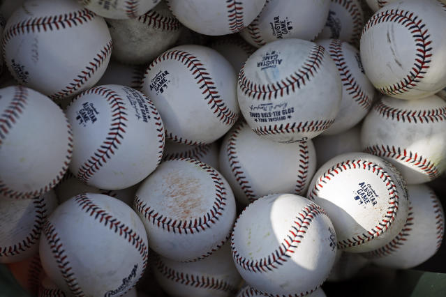 Rob Manfred is going to have to do something about the baseballs. (AP)