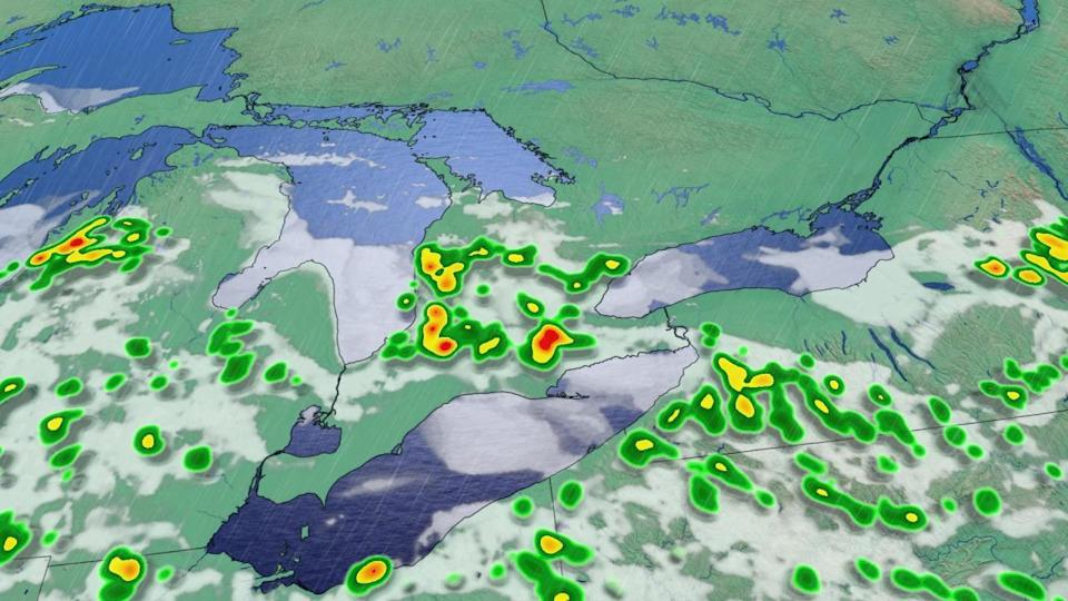 Severe storms threaten torrential rainfall in parts of Ontario