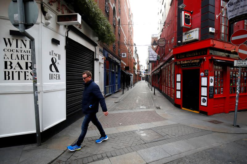 Irish services recovery lags euro zone on slower reopening - PMI