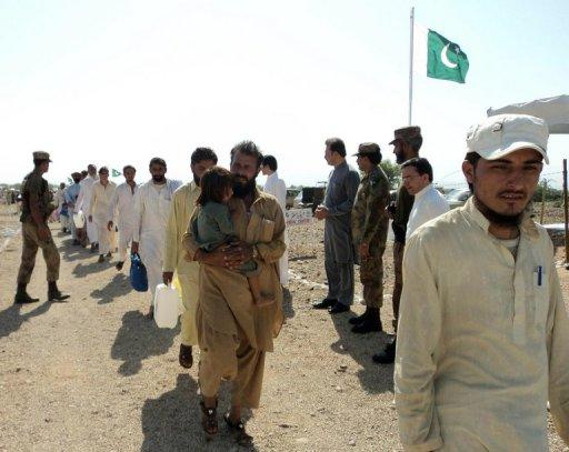 Panicked residents have hastily left North Waziristan despite official denials of any plan for an offensive