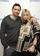 Jeremy Sisto and Addie Lane attend a launch party for new skincare line Puristics at a private residence in Los Angeles on February 16, 2012 -- Getty Premium