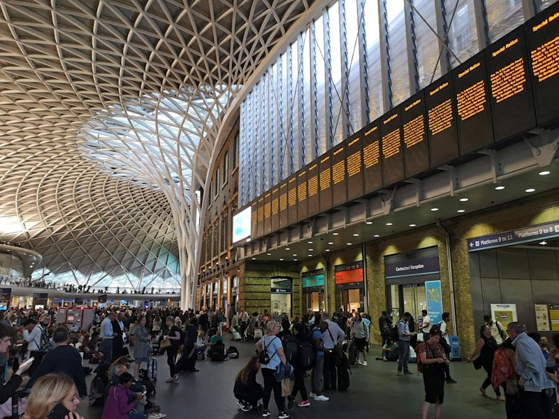 Protesters will demonstrate against the annual post-Christmas hike in fares outside King's Cross Station (PA Wire/PA Images)