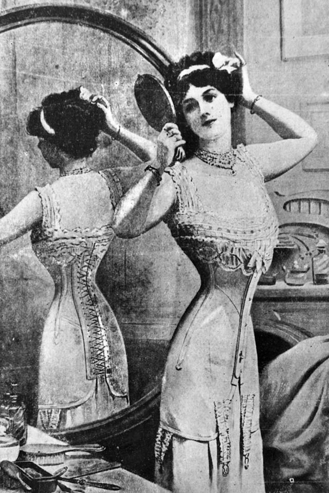 <p>Internal organ damage, broken ribs, hours to get dressed—there is such thing as doing too much for fashun and corsets are it. </p>