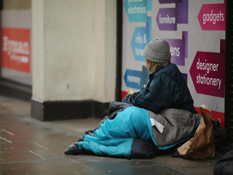Women who respond to 'sex for rent' advertisements do so because the alternative, sleeping rough, is often even more dangerous: Getty