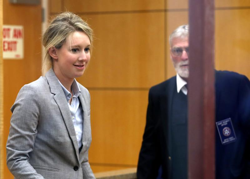 Elizabeth Holmes Appears in Court for the First Time Since Release of HBO Documentary