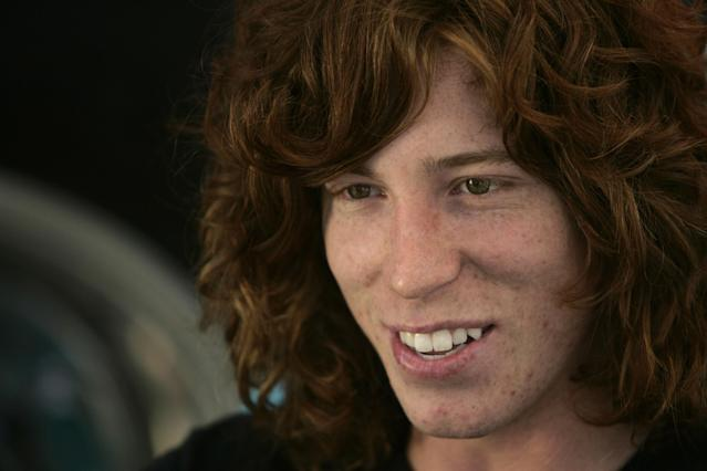 <p>Shaun White HP Bus Media Day Tour of Los Angeles – August 2, 2006<br> Shaun White aboard the HP Bus during a media day tour of Los Angeles, California during X Games XII being held at the Staples Center August 3-6, 2006. (Photo by Mike Ehrmann/WireImage) </p>