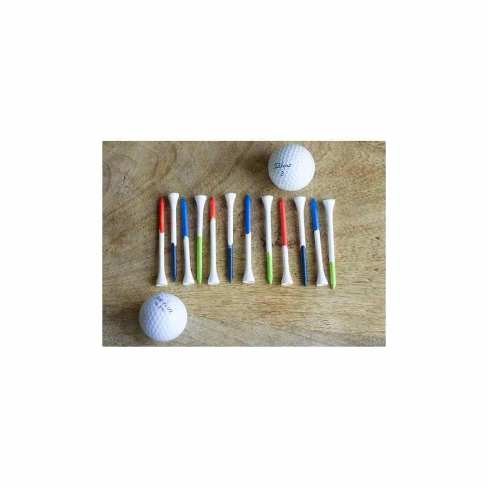 """<p>If time is limited, this craft couldn't be any easier. Simply dip golf tees in colorful paint. The real present? Sending him out on the links for the day. </p><p><a href=""""https://designimprovised.com/2013/06/fathers-day-craft.html"""" rel=""""nofollow noopener"""" target=""""_blank"""" data-ylk=""""slk:Get the tutorial."""" class=""""link rapid-noclick-resp"""">Get the tutorial.</a></p><p><a class=""""link rapid-noclick-resp"""" href=""""https://go.redirectingat.com?id=74968X1596630&url=https%3A%2F%2Fwww.walmart.com%2Fip%2FApple-Barrel-Colors-Bright-Red-Paint-8-Fl-Oz%2F17301364&sref=https%3A%2F%2Fwww.oprahdaily.com%2Flife%2Fg27603456%2Fdiy-homemade-fathers-day-gifts%2F"""" rel=""""nofollow noopener"""" target=""""_blank"""" data-ylk=""""slk:SHOP PAINT"""">SHOP PAINT</a></p>"""