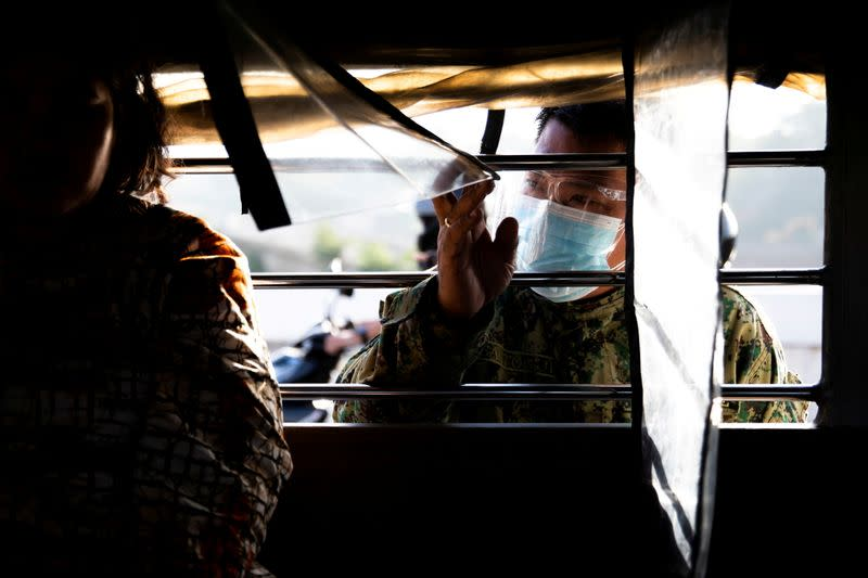 FILE PHOTO: Philippines places Manila area in lockdown to curb Delta variant