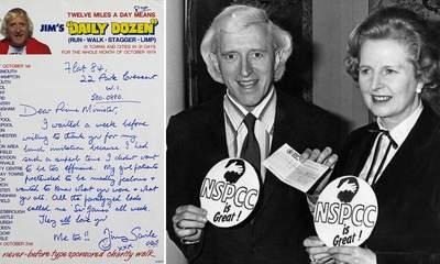 Jimmy Savile's 'Love' For Margaret Thatcher