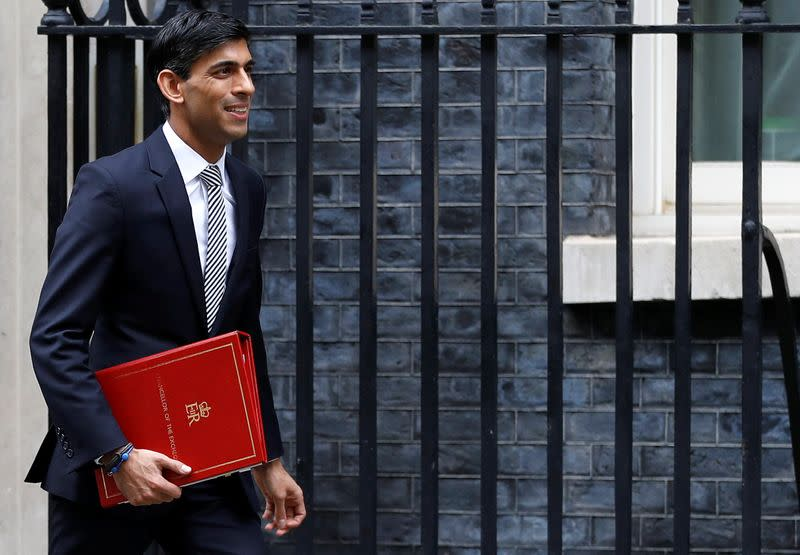 Sunak's choice: Raise tax or hurt UK's budget cred, think-tanks warn