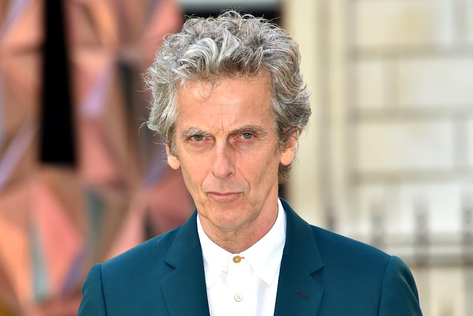 Peter Capaldi arriving for Royal Academy of Arts Summer Exhibition Preview Party 2018 held at Burlington House, London. PRESS ASSOCIATION Photo. Picture date: Wednesday June 6, 2018. Photo credit should read: Matt Crossick/PA Wire (Photo by Matt Crossick/PA Images via Getty Images)
