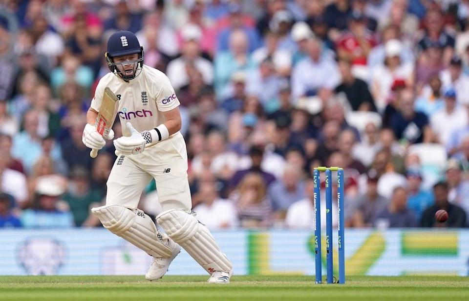 Ollie Pope started England's fightback (Adam Davy/PA) (PA Wire)