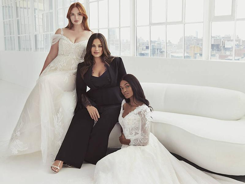 Ashley Graham launches inclusive bridal collection with Pronovias