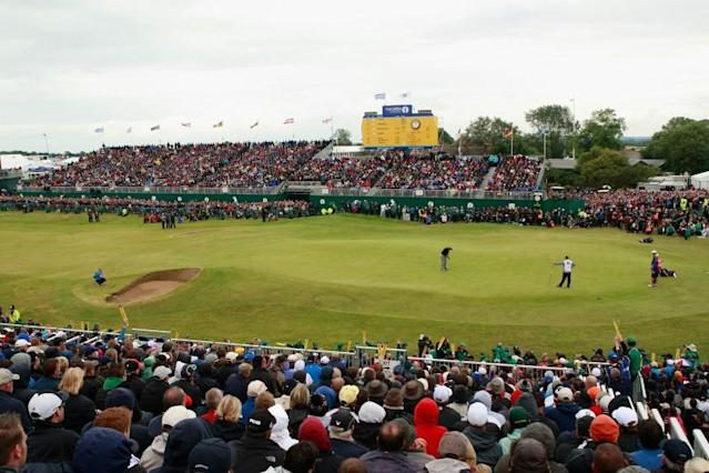 """Royal St. George's, which last hosted the British Open in 2011, will not play host to the major tournament this year as originally scheduled. <span class=""""copyright"""">(Scott Halleran / Getty Images)</span>"""