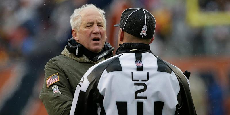 The Bears' John Fox Commits The Worst Successful Challenge Of All Time