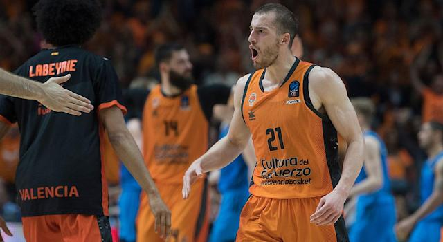 Matt Thomas will get his first taste of the NBA after starring for Valencia last season. (Photo by Rodolfo Molina/Euroleague Basketball via Getty Images)