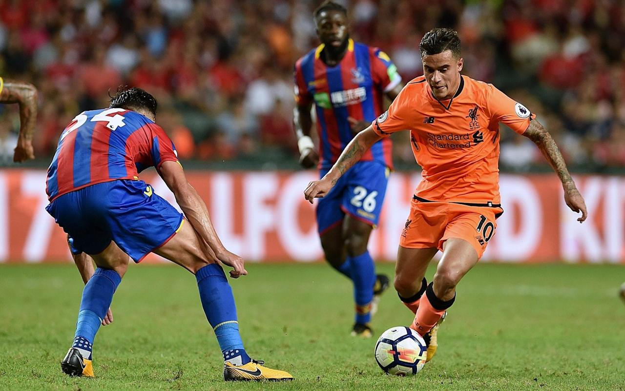 """Liverpool have made it clear to Barcelona their star player Philippe Coutinho is not for sale at any price after the Spanish giants made their much anticipated first move for the Brazilian. Barca have indicated they will pay £72 million for Coutinho in an effort to lure him to the Nou Camp this summer, but all bids will be rejected by the Merseyside club. Liverpool will hold firm in their resolve to retain the 25-year-old who is fundamental to Jurgen Klopp's ambitions this season, particularly as Liverpool seek to confirm a return to the Champions League. The club's position is there are no circumstances that will force them to part company with Coutinho this summer. Klopp could not have been more absolute when quizzed on Coutinho's future at the end of last season when it was first reported in Spain an offer was imminent. """"When did he sign his new contract?"""" saidKlopp last May. Coutinho in action in Liverpool's pre-season friendly against Crystal Palace earlier this week Credit: Getty images When reminded Coutinho penned new terms in January,Kloppadded: """"With a £400 million clause! """"There are absolutely no plans (to sell him). What our owners say is there is the absolute opportunity not to sell anybody if we do not want to. That means we can bring in others players and it is a good situation. We have a stable squad with a good basis. We want to bring a few in with fresh blood but nobody will leave us without our say so I am completely relaxed about this."""" Liverpool are determined to ensure history does not repeat itself as each of their most encouraging recent campaigns have ended with the loss of their most prized asset. When they were Premier League runners-up in 2009 they were forced into the sale of Xabi Alonso to Real Madrid. Then in 2014, Brendan Rodgers' reign rapidly deteriorated when Luis Suarez left for Barcelona and another rebuilding job began. Who's winning the transfer window? To lose Coutinho would be debilitating given how important he is to Klopp's"""