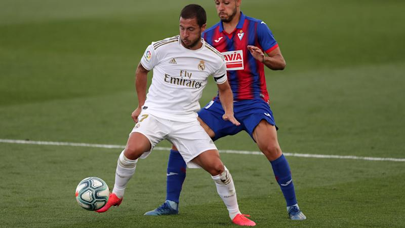'Hazard was given a good scare' - Zidane pleased with Real Madrid star's return despite physical treatment