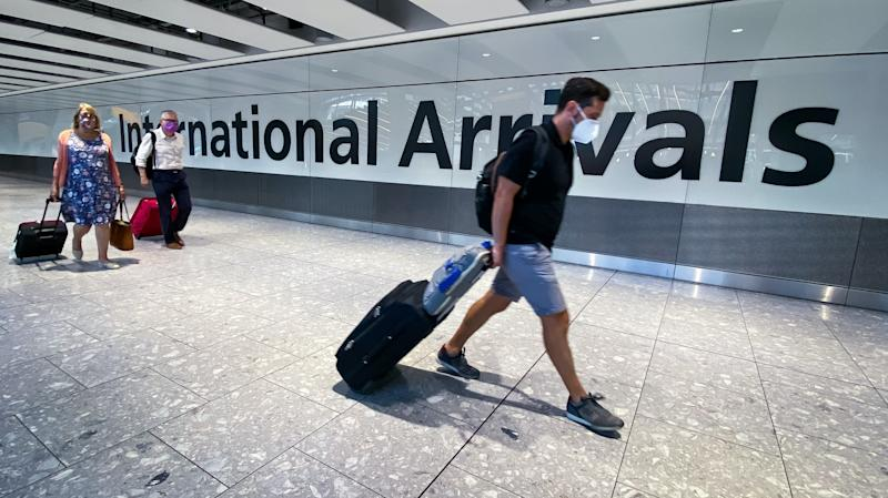 Quarantine on Portugal visitors comes in as UK divided over travel restrictions