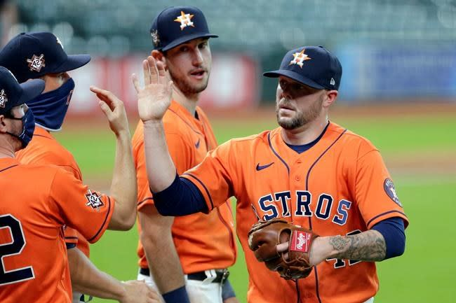 Kyle Tucker leads Astros to 6-3 win over A's for DH sweep