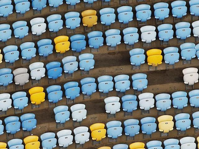 <p>10% of seats have been ripped out of the stadium (Nacho Doce) </p>