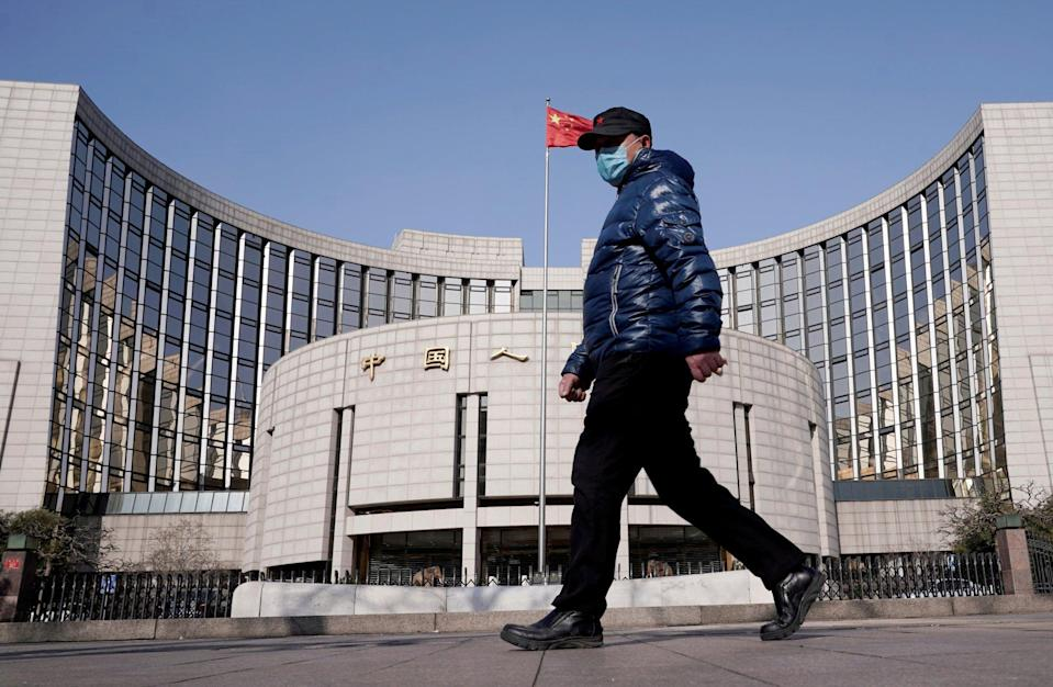 Two weeks ago, the People's Bank of China kept the loan prime rate unchanged for the 11th straight month. Pictured, the bank's headquarters in Beijing. Photo: Reuters