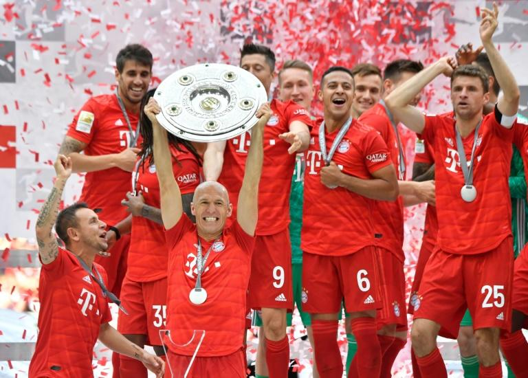 Bayern Munich are on the verge of an eighth straight Bundesliga title but celebrations may look a little different this year