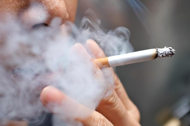 The dangers of cigarettes may persevere long after a smoker has 'lit up'. (Getty Images)