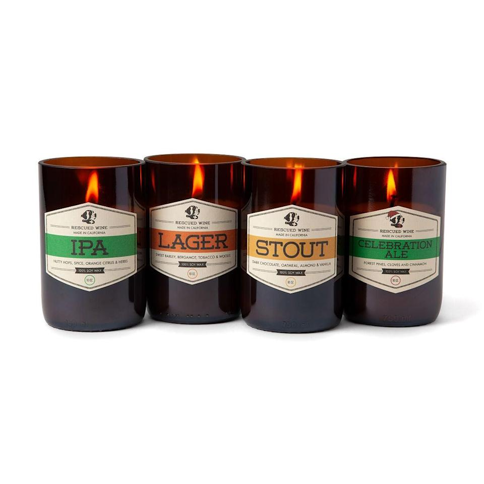 <p>Beer lovers need the <span>Craft Beer Candles</span> ($26).</p>
