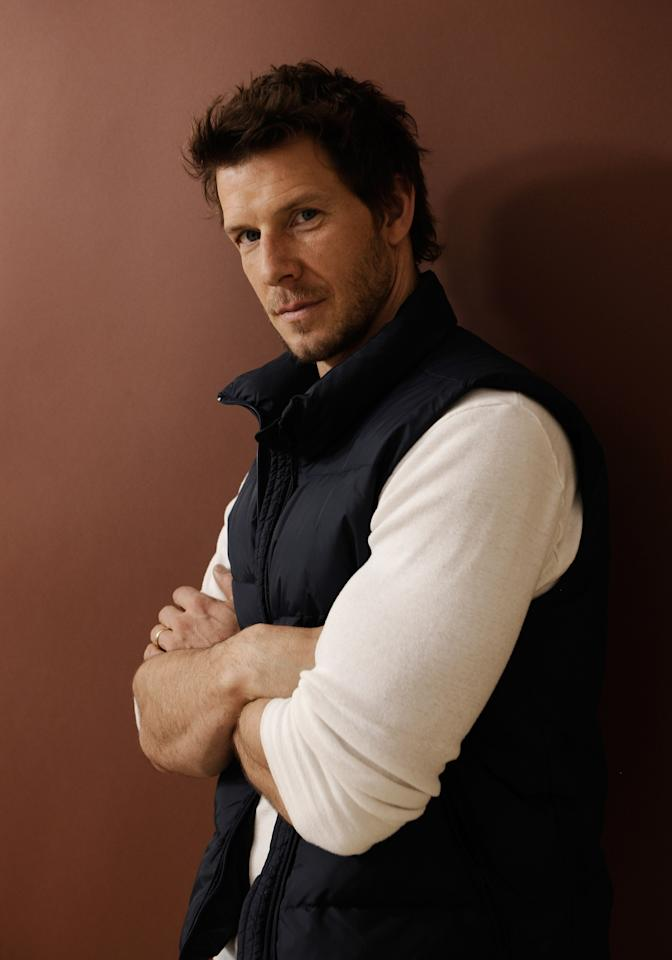 PARK CITY, UT - JANUARY 24:  Actor Eric Mabius poses for a portrait during the 2012 Sundance Film Festival at the Getty Images Portrait Studio at T-Mobile Village at the Lift on January 24, 2012 in Park City, Utah.  (Photo by Larry Busacca/Getty Images)