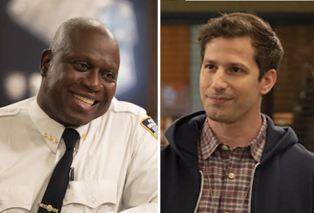 """Andre Braugher and Andy Samberg in """"Brooklyn nine-nine""""  The series finale"""