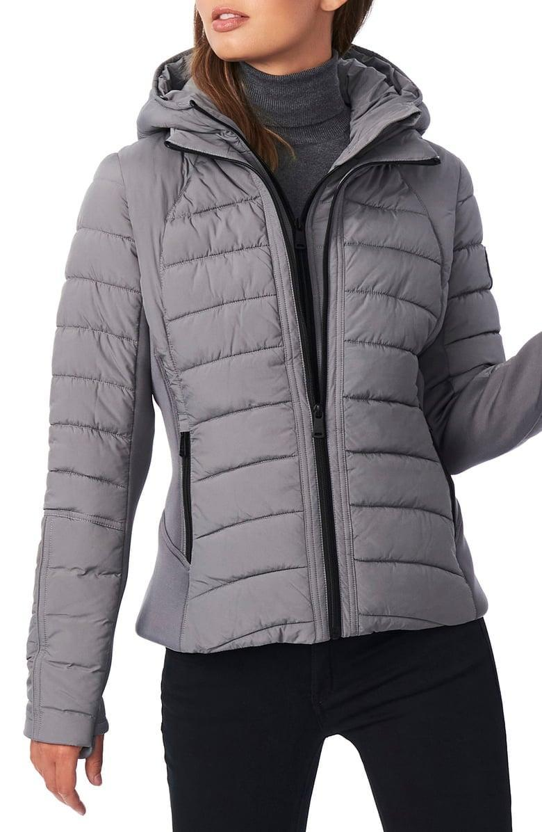 <p><span>Bernardo Hooded Quilted Water Repellent Jacket</span> ($75, originally $180)</p>