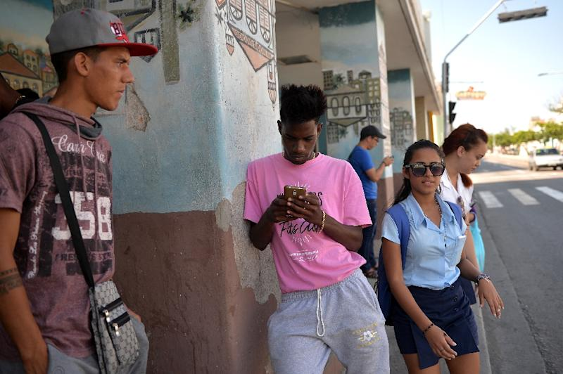 Cuban youths have not until now known a time when the country was not led by a man named Castro; that all changes on Thursday (AFP Photo/Yamil LAGE)