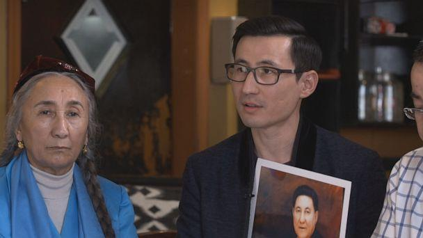 """PHOTO: """"He sent me a message from WeChat,"""" Kuzzat Altay told ABC News, recalling the last conversation he had with his father. """"He said, 'son, they are taking me.'"""" (ABC)"""