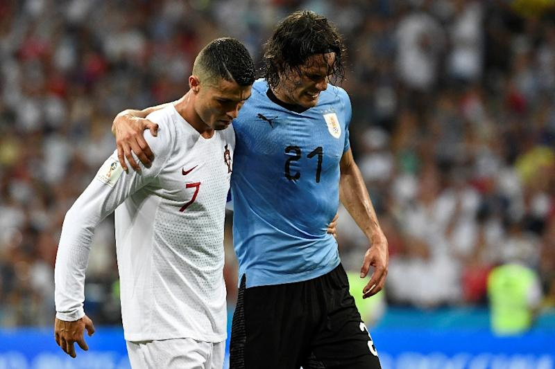 Cavani Did Not Tear Calf Muscle Confirm Uruguay