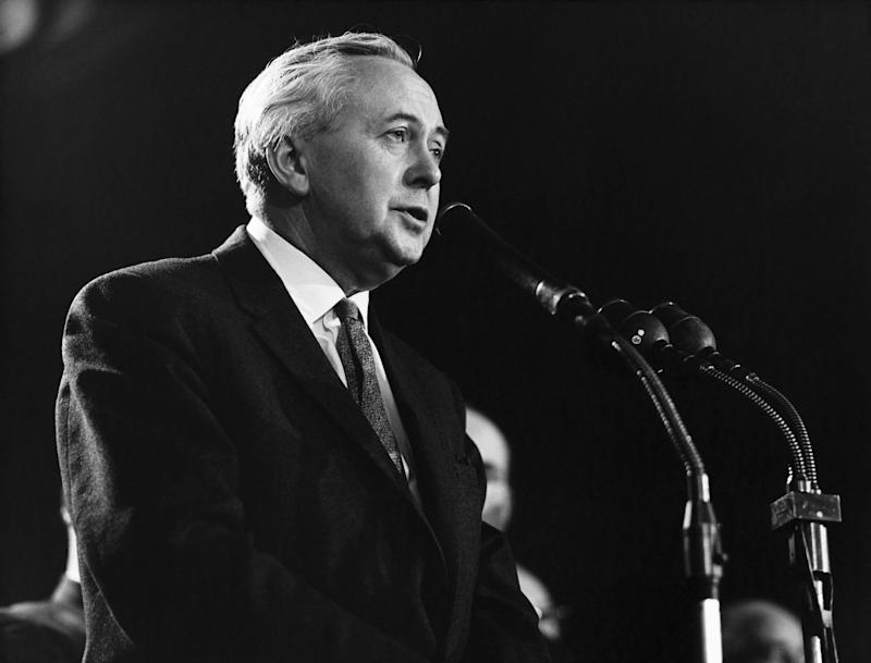 Harold Wilson, Labour PM 1964-1970 and 1974-1976 (Photo: Hulton Deutsch via Getty Images)