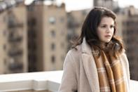 <p><b>PS: What brands did you pull from most for Selena's character? Is there anything special she or any of the characters wore and kept?</b></p> <p><b>DC</b>: Puma sneakers, Sies Marjan coats, Frankie Shop suiting, Stella McCartney boots, Doc Martens boots, Lotuff Leather for her hero black backpack, Rellery for her necklaces, Sheertex for her tights, Proenza Schouler boots, Rebecca Turbow for belts. Our go-to places to shop for Selena were Outnet.com, Realreal.com, &amp;Other Stories, Aritzia and various Brooklyn thrift shops (Beacon's Closet is my usual favorite). I thought that these were all places that Mabel would actually shop. I didn't want to go too high end though, because that wouldn't be true to her character. We tried to shop second-hand as much as possible. </p> <p>I found a beautiful distressed vintage denim coverall that Selena wears in the scenes when she is creating the mural in her aunt's apartment. Our very talented Ager/Dyer Kyle O'Connor then distressed it further, adding paint splatter and other art-related stains to them - to make them look like her go-to outfit for when she's creating her art. Selena loved these and she took them home with her when the show wrapped. </p>