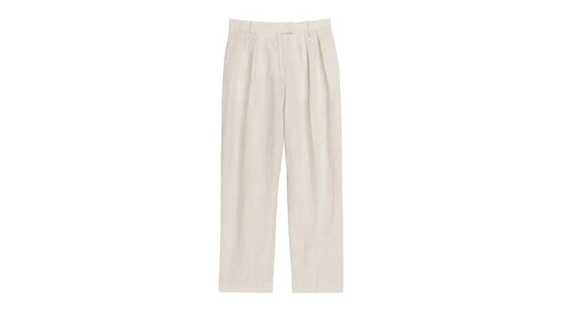 Fluid Linen Trousers
