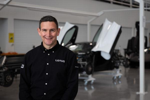 Matt Windle, neuer Managing Director von Lotus. Foto: Lotus Cars