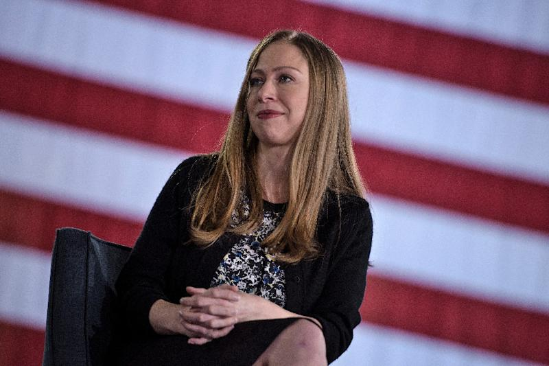 Chelsea Clinton, seen in October 2016, works for the Clinton family nonprofit foundation, where she is vice president and particularly involved with issues related to women and health