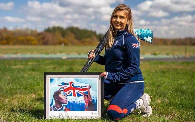 Amber Hill was considered a top medal contender for Team GB in Tokyo after setting a world record earlier this year